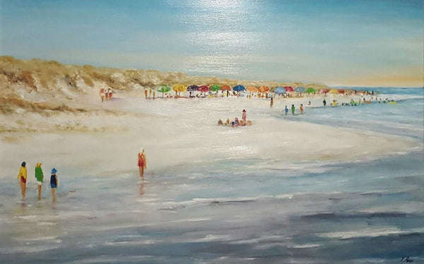 Tony Ryan Painting ~ 'Summer's Joys' - Gallery Salamanca Tasmania