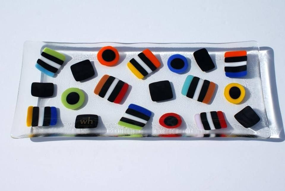 Wendy Helleman Glass ~ Allsorts Rectangle - Gallery Salamanca