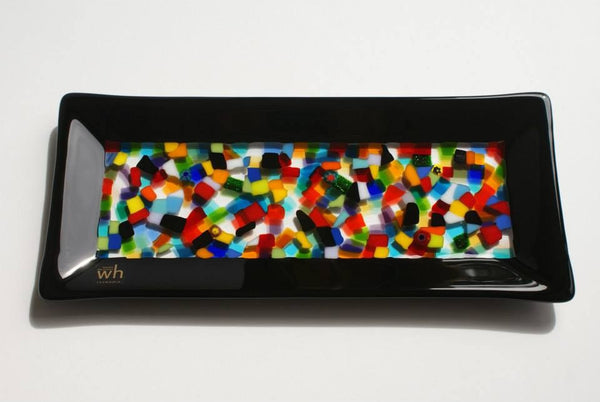 Wendy Helleman Glass ~ Confetti Rectangle - Gallery Salamanca