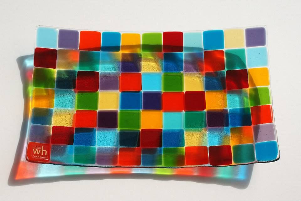 Wendy Helleman Glass ~ Mosaic Rectangle - Gallery Salamanca