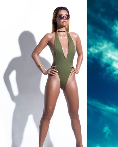 Steffi K Jewelry featured on the new Mint Swim Summer '16 Campaign, a brand by Draya Michele.