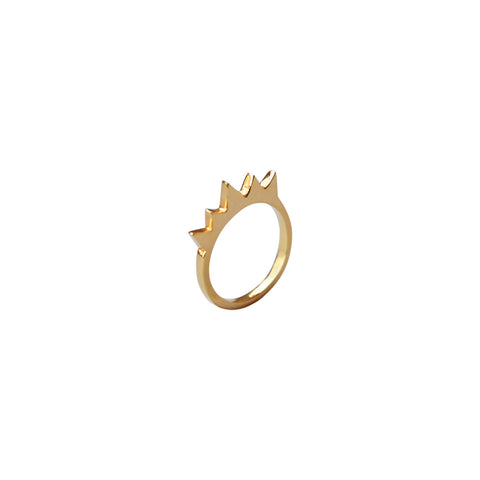 KAY SPIKE RING (set of 2)