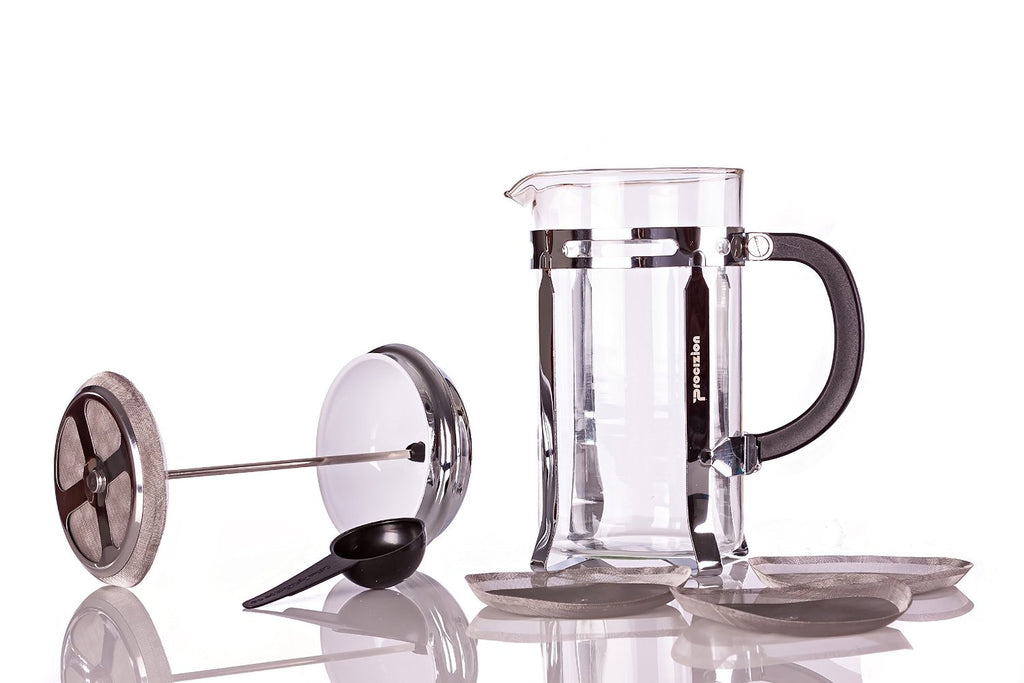 Make a Perfect Cup of Coffee with the Procizion French Press Coffee Maker