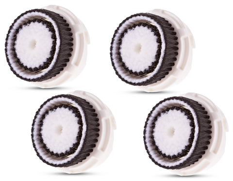 Compatible Replacement Brush Heads for Sensitive Skin (4 Pack)