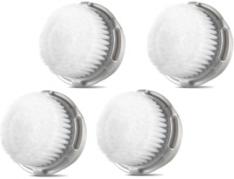 Compatible Cashmere Brush Heads for Full Facial Like Cleanse (4 Pack)