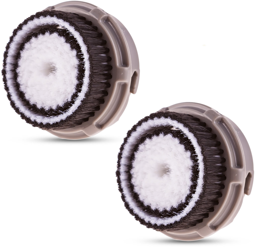 Replacement Clarisonic Compatible Brush Heads for Normal Skin (2 Pack)