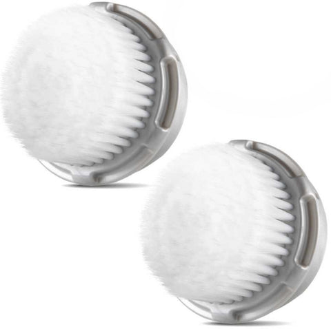 Clarisonic Compatible Replacement Cashmere Brush Heads (2 Pack)