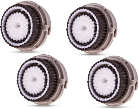 Compatible Replacement Brush Heads for Normal Skin (4 Pack)