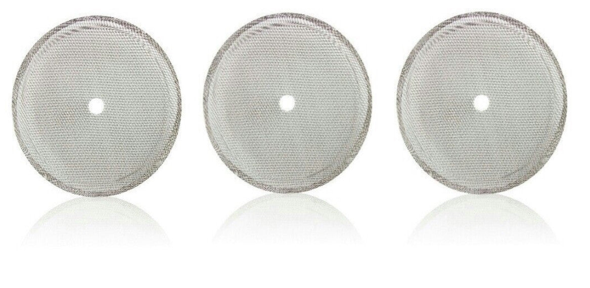 8 Cup French Press ourraiy 10 Packs French Press Replacement Filter Screen,Stainless Steel 4 Inch Reusable for 1000 ml 34 oz