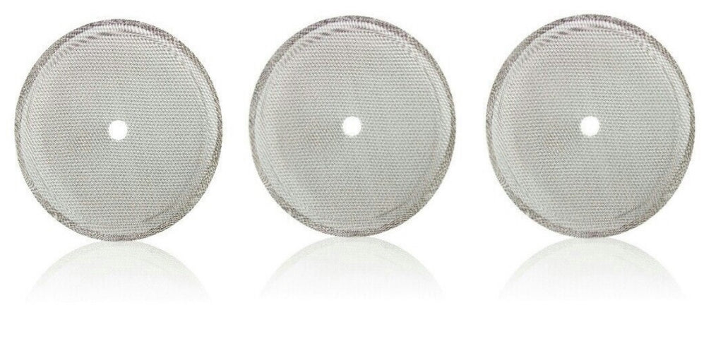 French Press Filters, Replacement Universal Coffee, Espresso and Tea Maker Screens (20 Oz Filter Mesh 3 Pack)