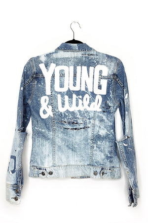 Young & Wild Denim Jacket