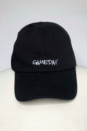 Black Gameday Baseball Cap