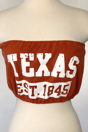 UT Texas Stretchy Tube Top