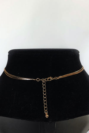 In the Loop Layered Gold Necklace