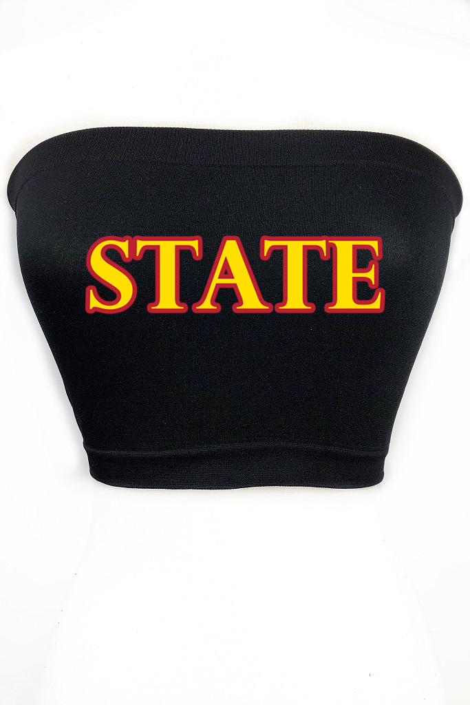 Custom State Tube Top - Multiple Colors