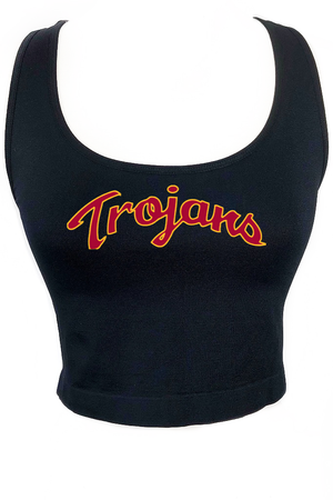 USC Trojans Crop Tank Top