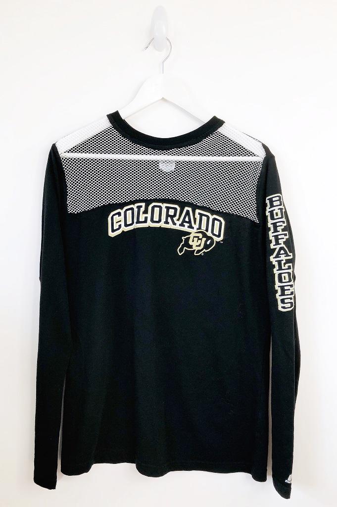 Colorado Buffaloes Long Sleeve Mesh T-shirt