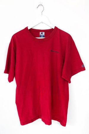 Red Champion Tshirt