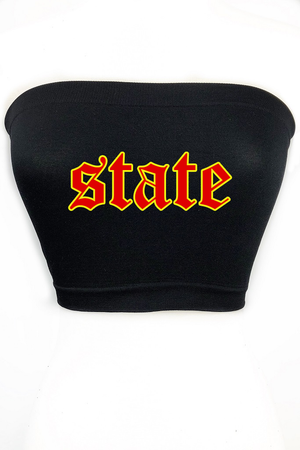 Custom State Tube Top - Font #2 - Multiple Colors