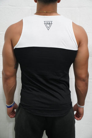 Two Tone Tank (Black/White) - The Lost Breed