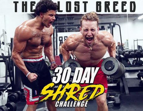 30 Day Shred Challenge - The Lost Breed