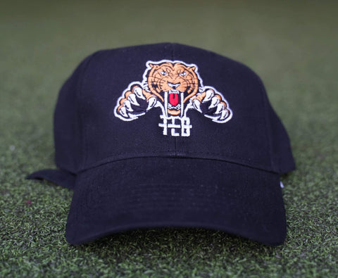 Tiger Logo Hat (Black) - The Lost Breed