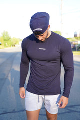 TLB Performance Long Sleeve (Navy Blue)