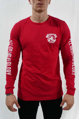 World Takeover Long Sleeve (Red)