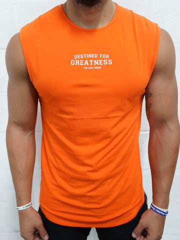 Destined For Greatness Cutoff (Orange) - The Lost Breed