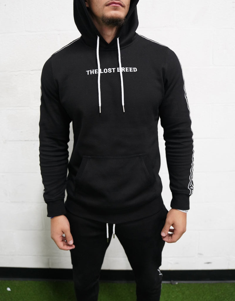 Taping Sweatshirt (Black)* - The Lost Breed
