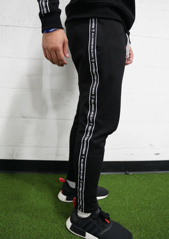 Taping Track Pants (Black)* - The Lost Breed