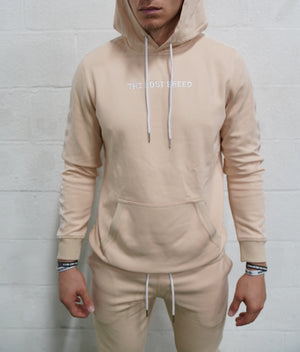 Taping Sweatshirt (Tan)* - The Lost Breed
