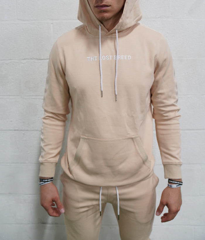 Taping Sweatshirt (Tan)*