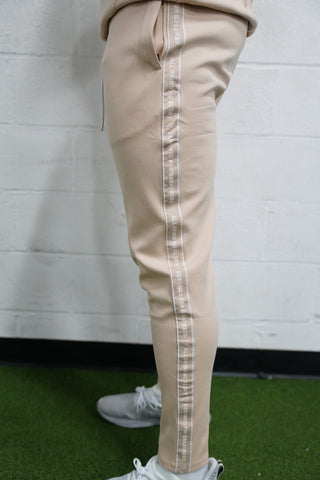 Taping Track Pants (Tan)* - The Lost Breed