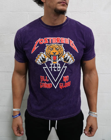 TLB World Tour Tee (Purple)* - The Lost Breed