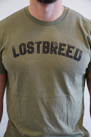 """Lost Breed"" Tee (Green)"