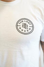 Stamp Logo Tee (White)