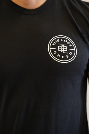 Stamp Logo Tee (Black)