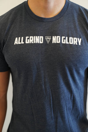 """Grind Is All I Know"" Tee (Navy)"