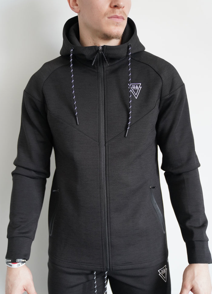 Performance Zip-Up (Black)