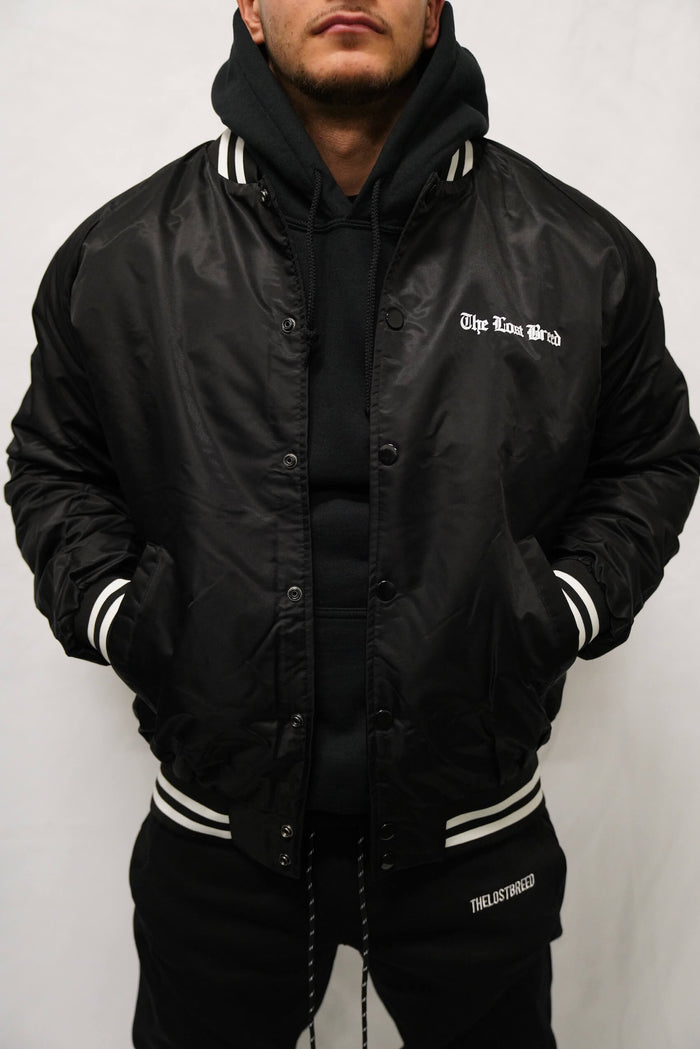 TLB Bomber Jacket (Black)