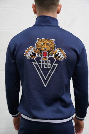 Tiger Track Jacket (Navy) - The Lost Breed
