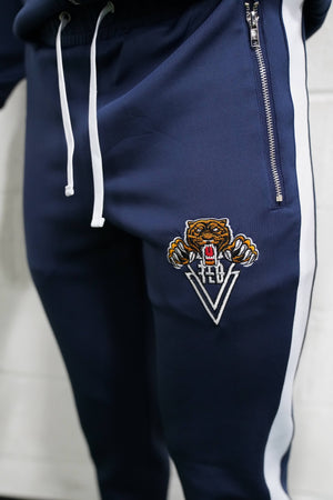 Tiger Track Pants (Navy) - The Lost Breed
