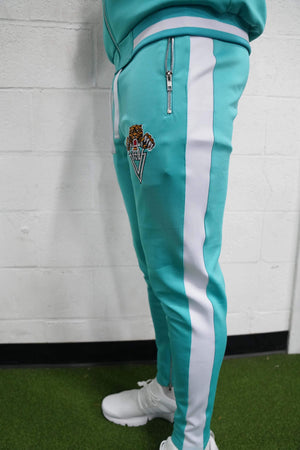 Tiger Track Pants (Teal) - The Lost Breed