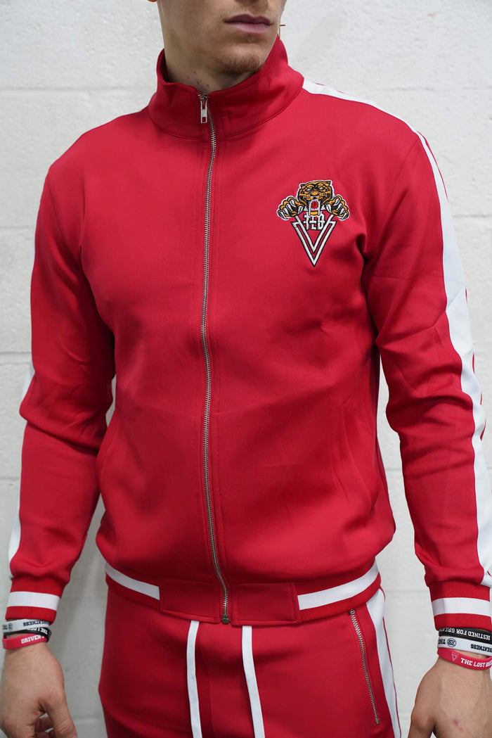 Tiger Track Jacket (Red)