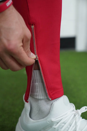 Tiger Track Pants (Red) - The Lost Breed