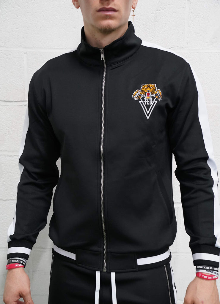 Tiger Track Jacket (Black) - The Lost Breed