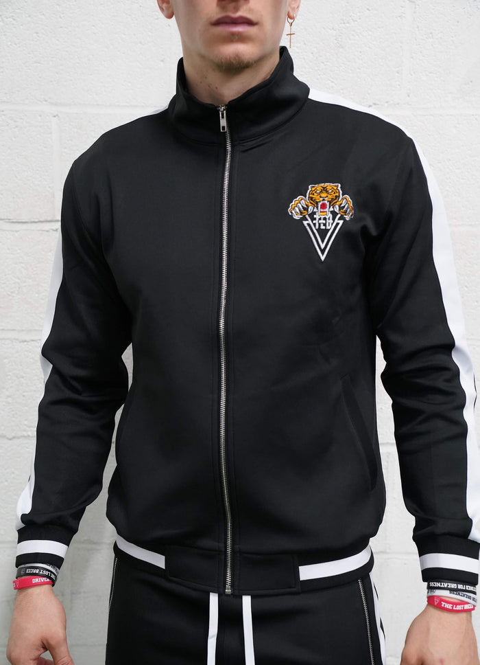 Tiger Track Jacket (Black)