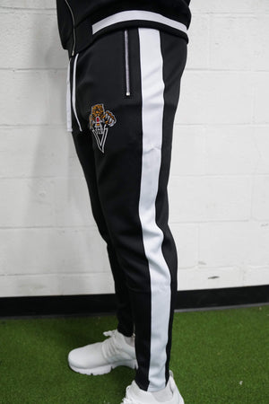 Tiger Track Pants (Black) - The Lost Breed