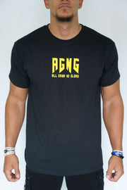 """AGNG"" Tee (Black/Yellow)"
